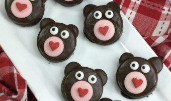 Sweetheart Oreo Bear Cookies #recipe