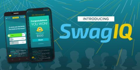 Use Swagbucks to win up to $1000 playing Swagbucks SwagIQ #AD
