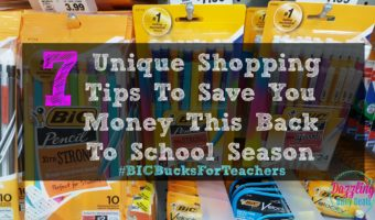 7 Unique Shopping Tips To Save You Money This Back To School Season