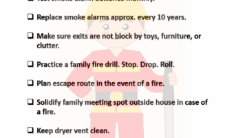 Fire Safety check list